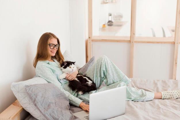 Студентка онлайн