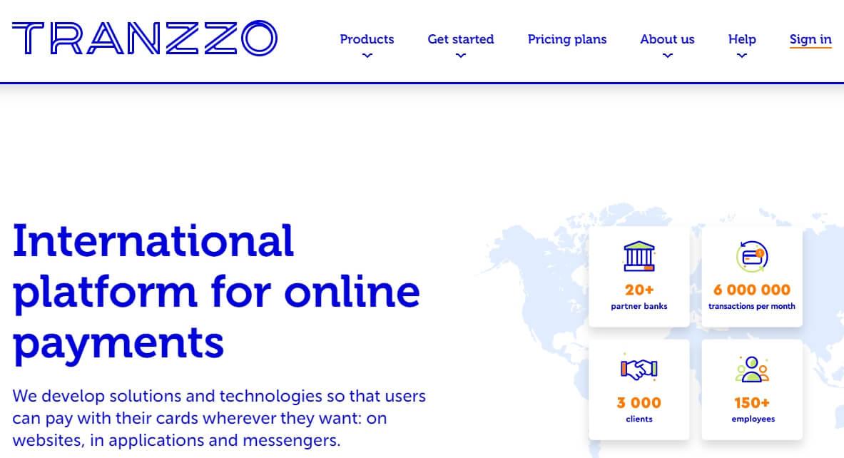 Описание сервиса Tranzzo