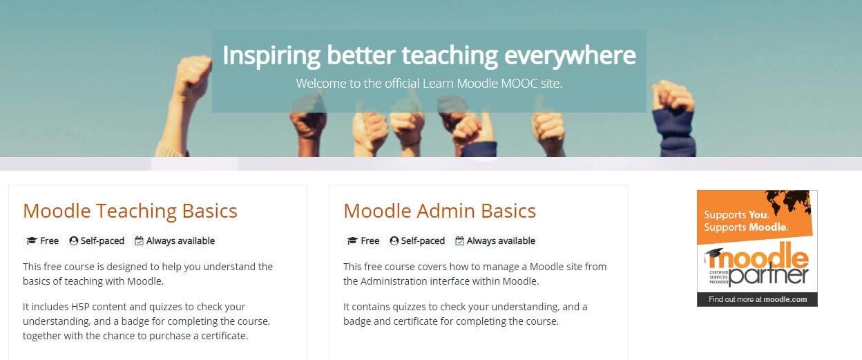 Обучение работе с Moodle