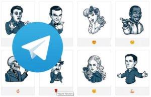 Добавление стикеров в Telegram